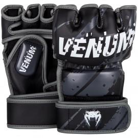 MMA RUKAVICE VENUM PIXEL - černo/šedé