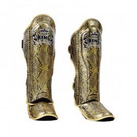 Chrániče holení s nártem Top King Snake - černozlatá