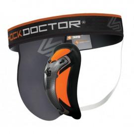 Shock Doctor Suspenzor s Ultra karbonovou Flexi vložkou - šedý