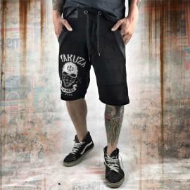 Pánské šortky Yakuza DEAD HEAD SSB 10070  - černé