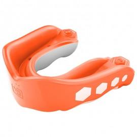 Shock Doctor GEL MAX - chránič zubů - oranžový S PŘÍCHUTÍ Orange 6333A