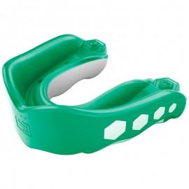 Shock Doctor GEL MAX - chránič zubů - zelený S PŘÍCHUTÍ Spearmint 6323A