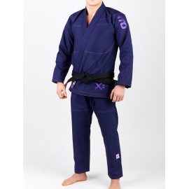 "MANTO Kimono ""X2"" BJJ GI - fialové"