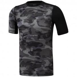 REEBOK Pánské kompresní tričko ACTVCHL COMP - černé