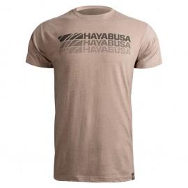 Tričko HAYABUSA Triple Threat - hnědé