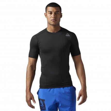 Pánské kompresní tričko Reebok WORKOUT READY  - černé