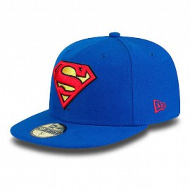 Kšiltovka New Era 5950 Basic Superman modrá