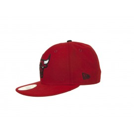 Kšiltovka NEW ERA 5950 Patched Team Chicago Bulls red