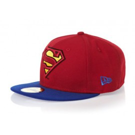 Kšiltovka New Era 5950 Basic Superman červená