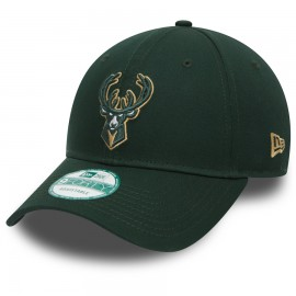 Kšiltovka New Era 940 NBA Team Milwaukee Bucks