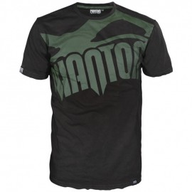 """Pánské tričko Phantom """"Supporter"""" - černo/zelené"""