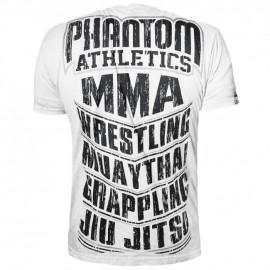 Pánské tričko Phantom  MMA SPORTS - bílé