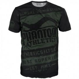 """Pánské tričko Phantom """"EVO - Walkout"""" - černo /zelené"""