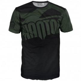 """Pánské tričko Phantom """"EVO - Supporter"""" - černo /zelené"""