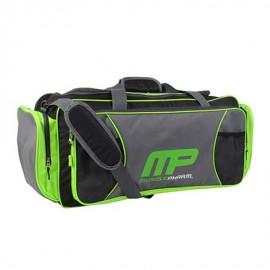 MUSCLEPHARM Sportovní taška MP - černo/zelená