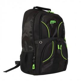 MUSCLEPHARM Sportovní batoh MP - černo/zelený