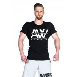 NEBBIA Pánské triko AW TOP 127 - černé