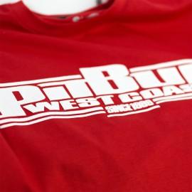 PitBull West Coast Triko CLASSIC BOXING - červené