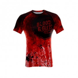 Rashguard POUNDOUT BLOOD & GUTS