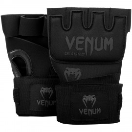 Venum rukavice Gel Kontact - černo/černé