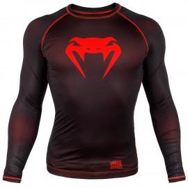 Kompresní triko VENUM CONTENDER 3.0 dl.rukáv - černo/červený