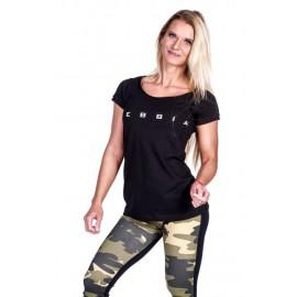 Dámské triko Nebbia 277 - černé