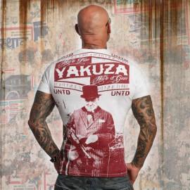 Pánské tričko YAKUZA UNTD TSB 100176 - bílé