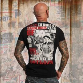 Pánské tričko YAKUZA PLACE TSB 10015 - černé