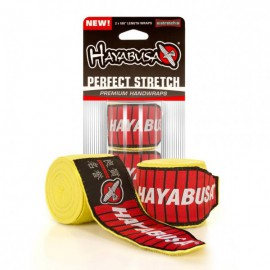 Bandáže Hayabusa Perfect Stretch - Žluté