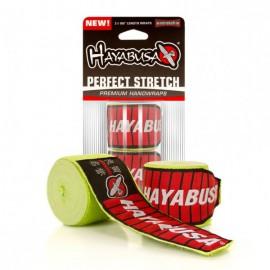 Bandáže Hayabusa Perfect Stretch - Zelené