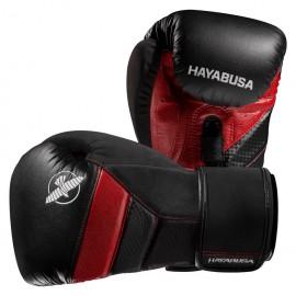 Hayabusa Boxerské rukavice T3 - černo/červené