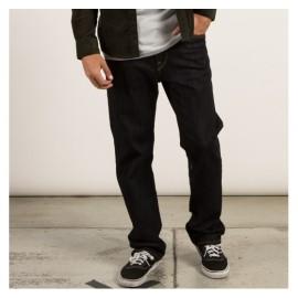 Pánské kalhoty Volcom Kinkade Black Rinser