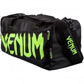 Sportovní taška VENUM SPARRING SPORT - černo/Neo žlutá