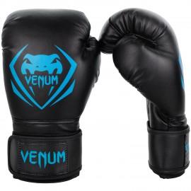 Boxerské rukavice VENUM Contender - černo/modré