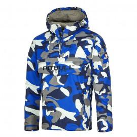 Zimní bunda PitBull West Coast  DONAX - modrá camo