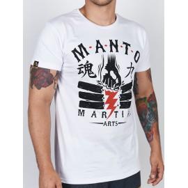 Manto tričko POWER - bílé