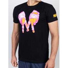 Manto tričko GANG - černé