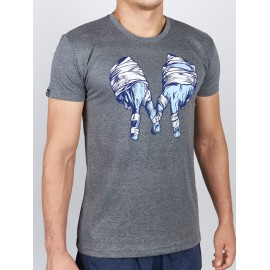 Manto tričko GANG - šedé