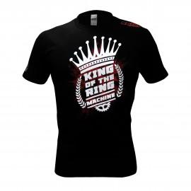 Triko Machine KING OF THE MACHINE - černo/červené