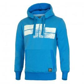 PitBull West Coast - KP mikina CLASSIC LOGO - královsky modrá