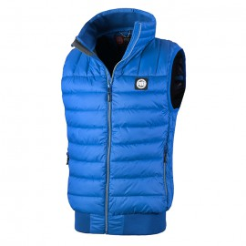 PitBull West Coast - zimní vesta GRANGER - královsky modrá