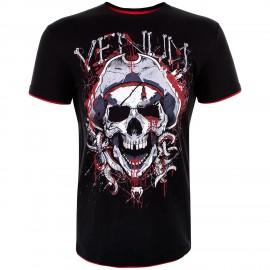 Pánské tričko VENUM PIRATE 3.0 - černo/červené