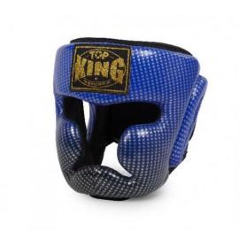 Přilba s lícnicemi Top King Superstar modrá