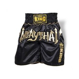 Thai trenýrky TOP KING K1 black