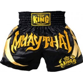 Thai trenýrky TOP KING MUAY THAI black