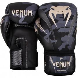 Boxerské rukavice VENUM  IMPACT - maskáčové