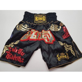 Thai trenýrky TOP KING K1 black