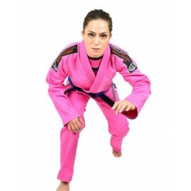 OKAMI fightgear Dámské Kimono BJJ Gi Warrior - pink