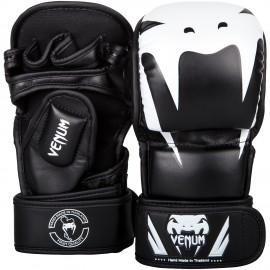 MMA Sparring rukavice VENUM IMPACT - černo/bílé