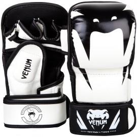 MMA Sparring rukavice VENUM IMPACT - bílo/černé
